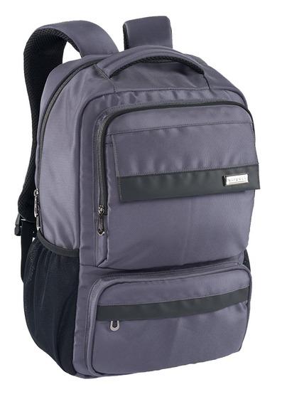 Mochila Ejecutiva Airpack Gris Para Laptop 15.5 Y Gadgets