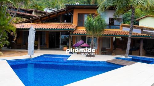 Casa À Venda, 450 M² Por R$ 2.500.000,00 - S F Praia - São Sebastião/sp - Ca5457