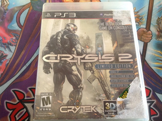 Crysis 2. Fisico. Ps3