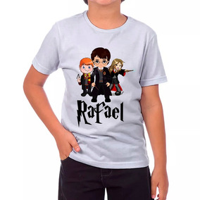 Camisa Harry Potter Personalizada