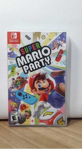 Jogo Super Mario Party Switch Usado