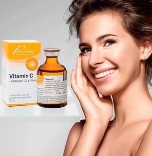 Vitamina C Alemana Original Endovenoso Pascoe/mercado Lider