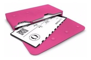 Organizador De Viaje Documentos Porta Pasaporte En Silicona