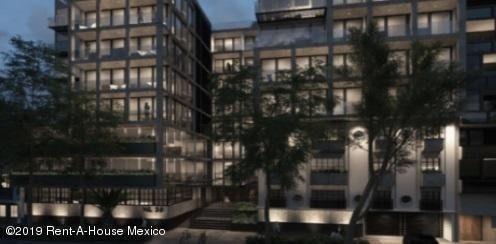 Departamento En Renta En Hipodromo Condesa, Cuauhtémoc, Rah-mx-19-1616