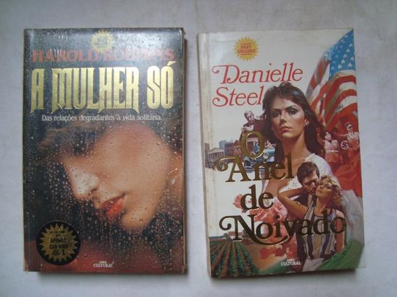 Lote De 5 Livros De Romances Antigos