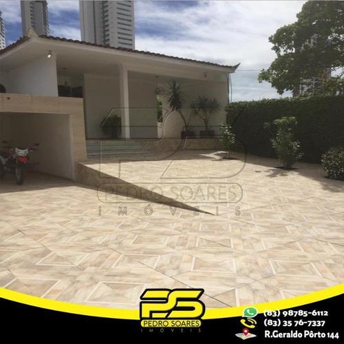 Casa Com 3 Dormitórios À Venda, 600 M² Por R$ 1.800.000 - Brisamar - João Pessoa/pb - Ca0511