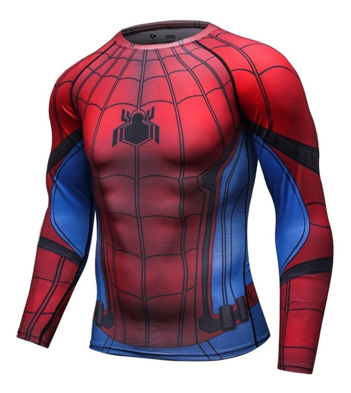 Playera Spiderman Marvel Dc Comics Crossfit