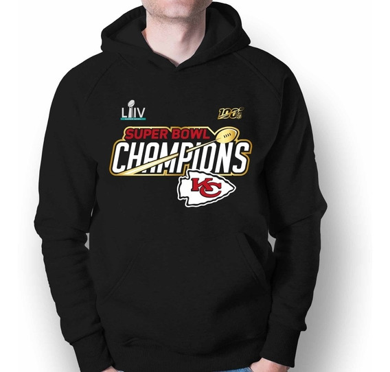 Sudadera Kansas City Chiefs Nfl Campeón Super Bowl Liv 2020