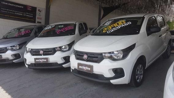 Fiat Mobi Easy 1.0 2018 Branco Ipva 2020 Pago