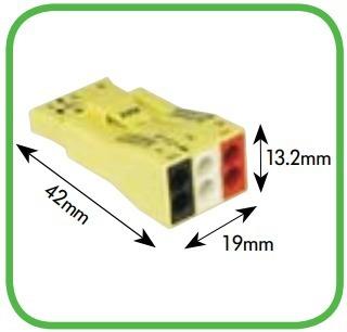 Conector 3 Polos Wago - 873-903 Pacote Com 10 Conjuntos