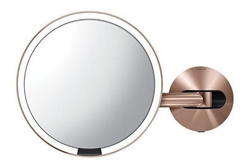 Simplehuman Sensor De 8 Espejo De Maquillaje Cableado