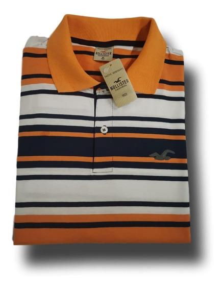 10 Camisas Polo Listrada Camiseta Blusa Masculina No Atacado