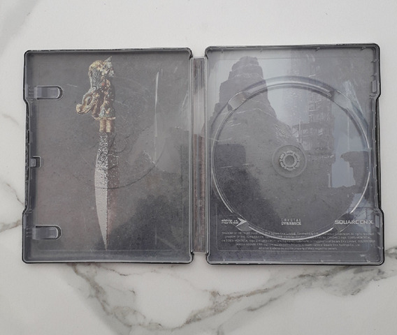 Case Metal Steelbook - Shadow Of The Tomb Raider - Sem Jogo