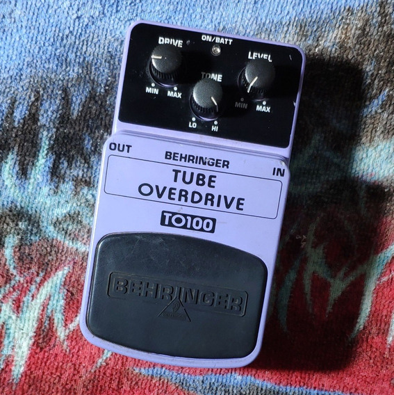 Behringer To100 Tube Overdrive - Willaudio