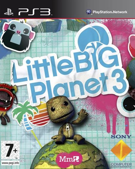 Little Big Planet 1 + 2 + 3 Psn Ps3