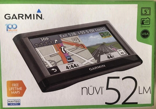 Gps Garmin Nuvi 52 Lm 5.0 + Base De Friccion.