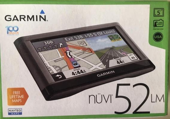 Gps Garmin Nuvi 52 Lm 5.0 + Base De Friccion.