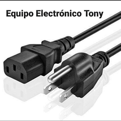 Cable Power Cord Para Computadora, Latop, Pc, Y Otro Equipo