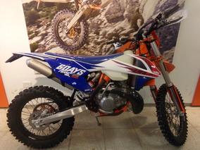 Motocicleta Ktm 250 Exc Tpi Six Days 2018 0km Azul