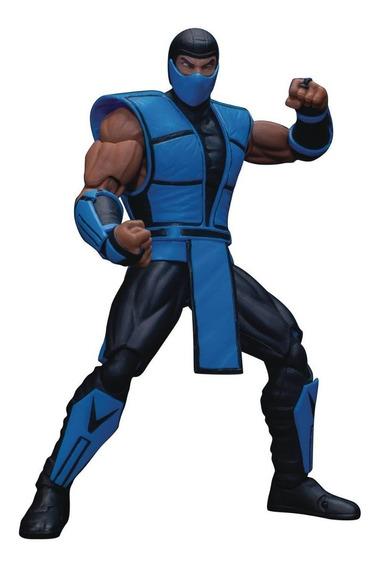 Boneco Sub Zero Mortal Kombat Subzero Storm Collectibles