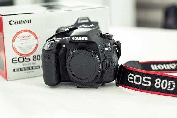Canon 80d Novíssima!