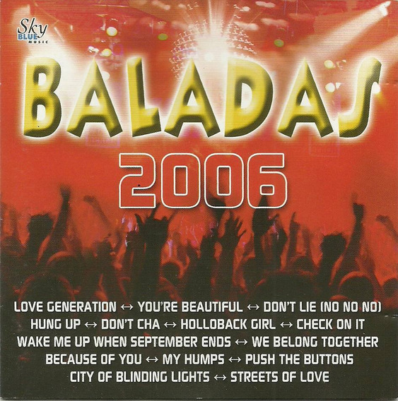 Baladas 2006 Rich Orbit Tonny Look Go Go Girls Alissha Green