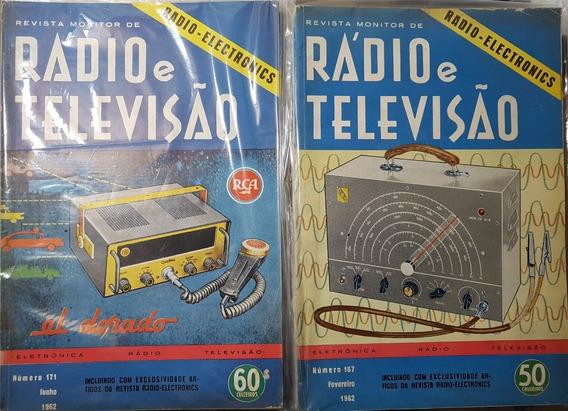 Revista Monitor De Rádio E Televisão - 30 Revistas