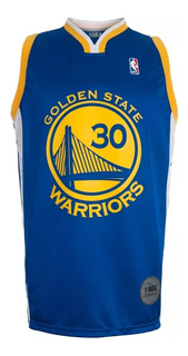 Camiseta Basquet Nba Golden State Warriors Curry Azul