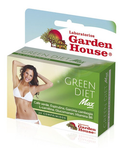 Garden House Suplemento Dietario Green Diet Max X 30 Comp