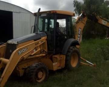 Pala Retro John Deere 310 G Brazo Extensible 4x4