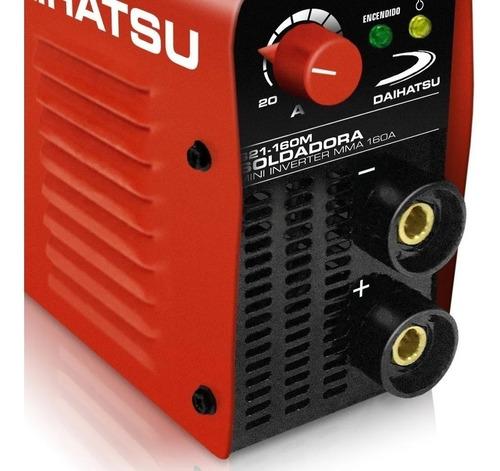 Soldadora Daihatsu S21-160m Mini Inverter Potente Y Portatil