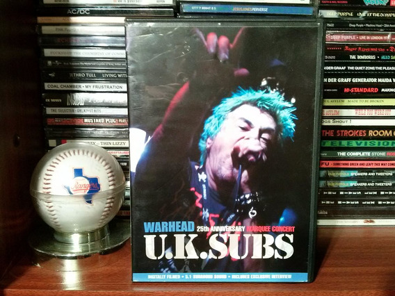 Uk Subs 25th Anniversary (dvd/made In Uk.2003) Impecable!