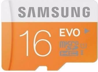 Cartão Micro Sdhc Evo 16gb 48mb/s Sd Samsung Galaxy Note3 3