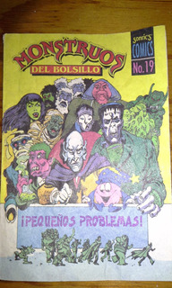 Revistas Monstruos De Bolsillo Sonrics