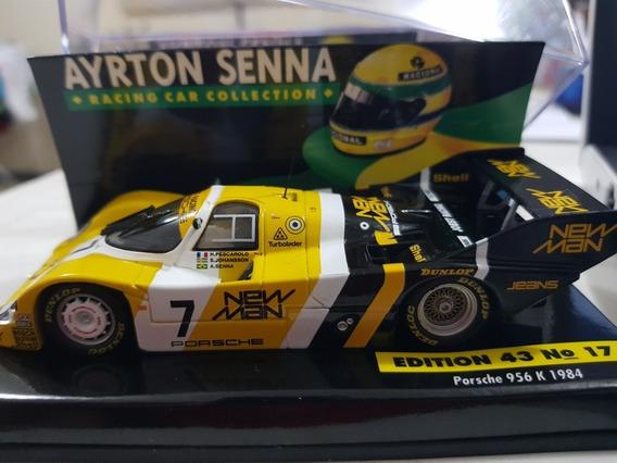 Ayrton Senna Porsche 956 1:43 Última Prova Em Carro Fechado