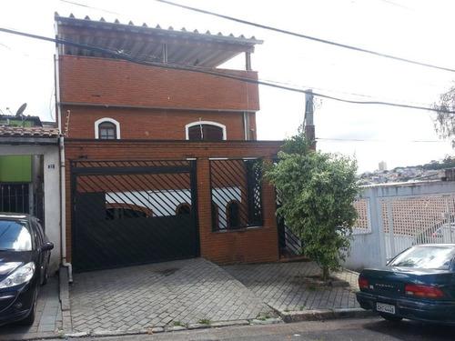 Imagem 1 de 9 de Imóvel Com 6 Casas Para Renda À Venda, 140 M² De R$ 740.000,00 Por R$ 630.000,00 - Jardim Almanara - São Paulo/sp - So1188v
