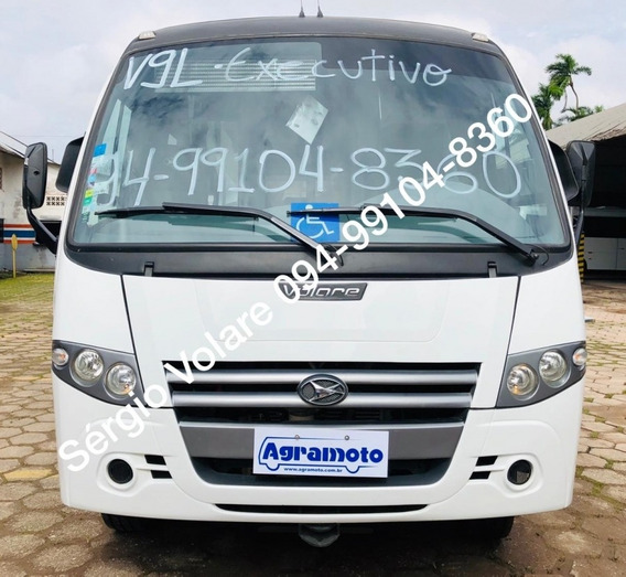 Micro Ônibus Volare Attack 9 Dta Executivo Cor Branca