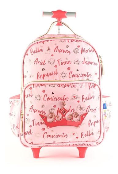 Mochila Carro De Princesas Corona Disney 16 81257 Mapleweb