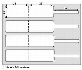 Etiqueta Joias Bopp 85mx13mm Rolo Com 3000 Unidades