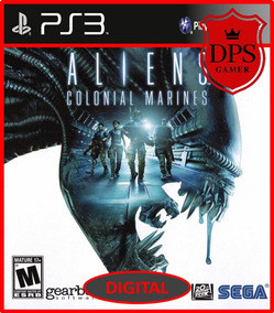 Aliens Colonial Marines Ps3 Psn Digital Envio Hoje