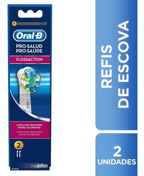 Refil P/escova Oral-b Elétrica Prof Care 500 Floss Action 3d