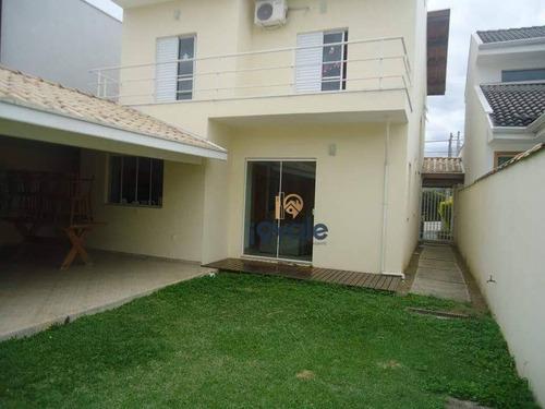 Casa Com 3 Dormitórios À Venda, 220 M² Por R$ 690.000,00 - Bairro Dos Guedes - Tremembé/sp - Ca1838