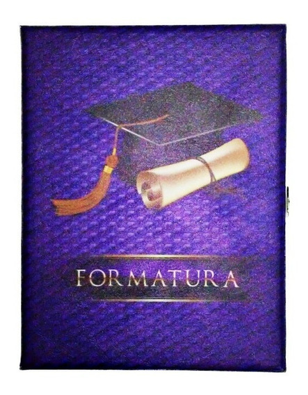 Álbum Estojo Formatura (0316) 15x21 P/40 Fotos Universal
