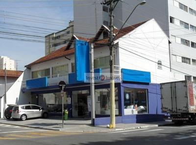 Salão Comercial Para Locação, Vila Adyana, São José Dos Campos. - Sl0102