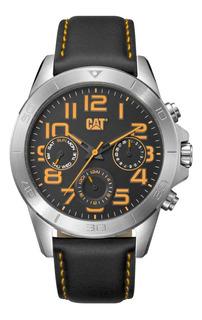 Reloj Caterpillar Yt Black Leather Multi Yt 149.34.117