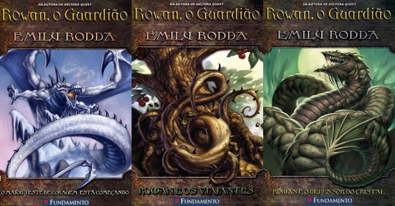 Rowan O Guardião - Emily Rodda Do Volume 1 Ao 3