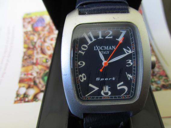 Relógio Locman Quartz Caixa De Alumínio