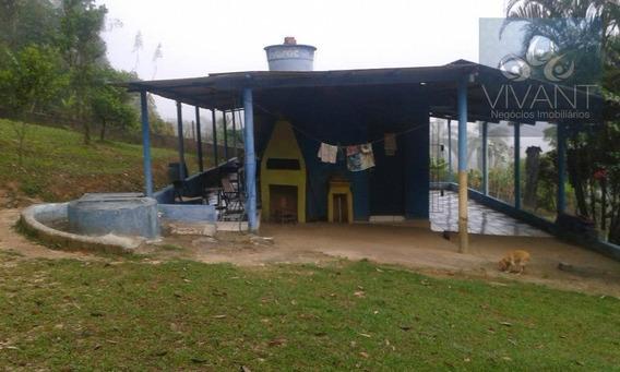 Chácara Com Pomar E Horta Toda Gramada À Venda, Quinta Divisão, Suzano. - Ch0005