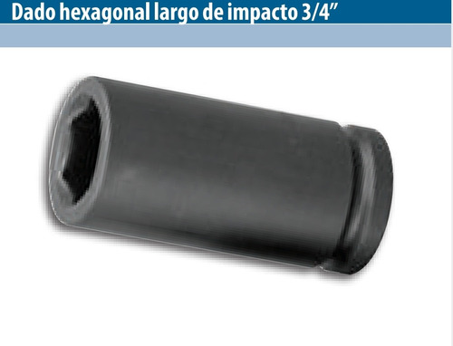 Tubo Alto Imp. Largo 41mm Enc. 3/4 Hex Paternal