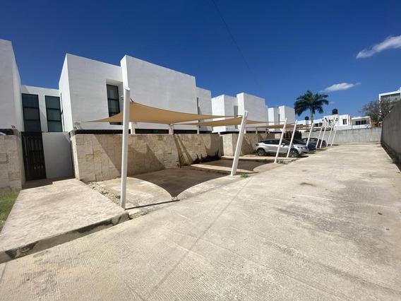 Casa En Renta En Merida, San Ramon Norte, Acceso Controlado (2 Habits)